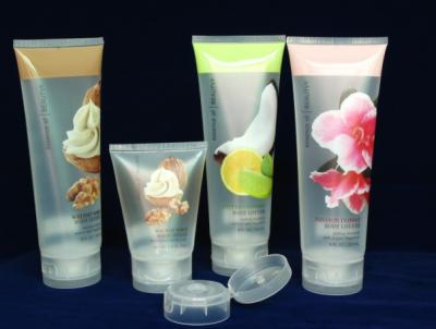 PE transparent cosmetic packaging tube ()